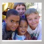 Cuatro niños poster