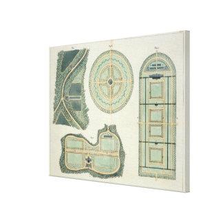 Cuatro planes para los huertos, de 'indirectas en impresión en lienzo estirada