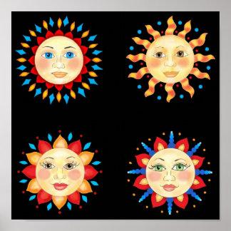 Cuatro Sun hace frente al poster