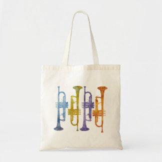 Cuatro trompetas de la acuarela