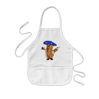 Cuauh's Mariachi Hot Dog Kids' Apron