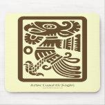 Cuauhtli azteca - Eagle (Brown) Mousepad Tapete De Ratón