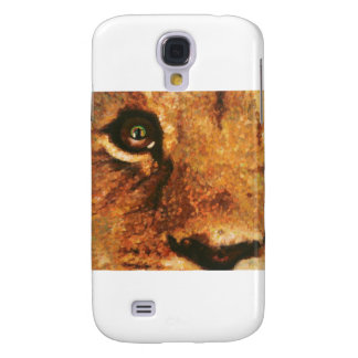 Cub-Arco iris del león en ojo