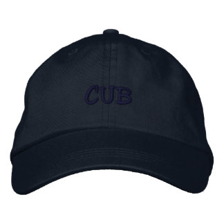 CUB EMBROIDERED BASEBALL CAP
