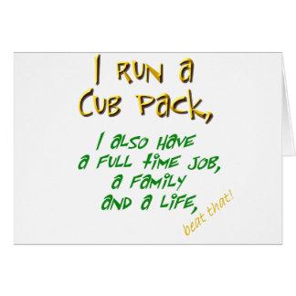 cub leader green card