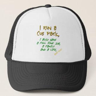 cub leader green trucker hat