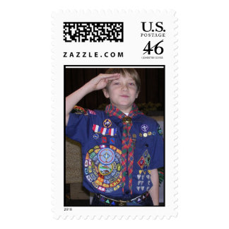 Cub Scouts - The handbook to Good Parenting Postage Stamps