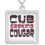 Cub Seeking Cougar Pendant