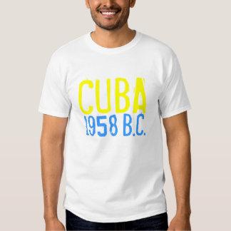 CUBA 1958, (antes de castro) Camisas
