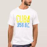 CUBA 1958, (antes de castro) Playera