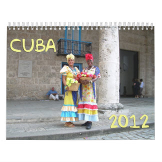 Cuba 2012 Calendar