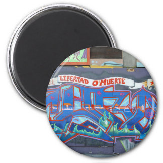 CUBA 2 INCH ROUND MAGNET