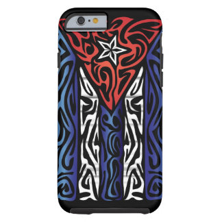 Cuba Abstract Tough iPhone 6 Case