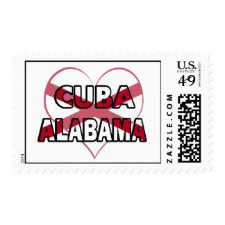 Cuba, Alabama Postage