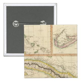 Cuba, Bahama I, Bermudas Pin Cuadrado