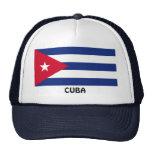 CUBA: Bandera cubana Gorra
