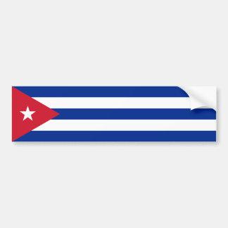 Cuba/bandera cubana pegatina para auto