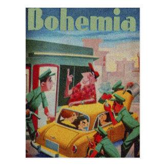 CUBA BOHEMIA MAGAZINE POSTCARD