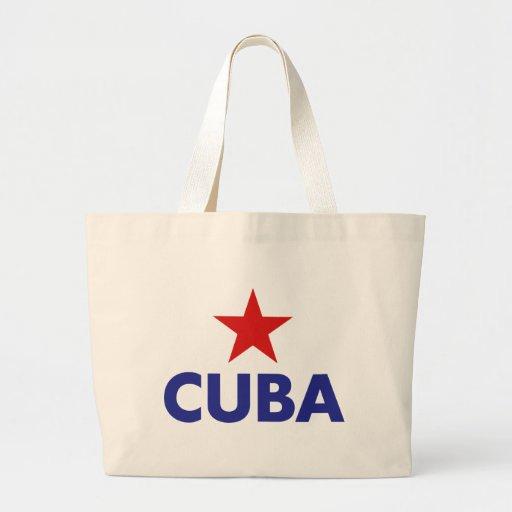Cuba Bolsa Lienzo