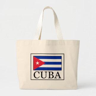 Cuba Bolsa Tela Grande