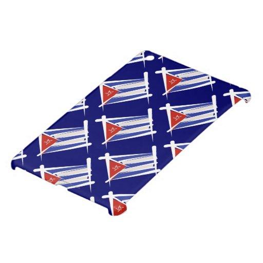 Cuba Brush Flag Case For The iPad Mini