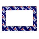 Cuba Brush Flag Magnetic Frame