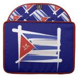 Cuba Brush Flag Sleeve For MacBook Pro