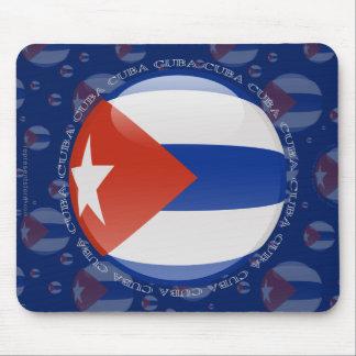 Cuba Bubble Flag Mouse Pad