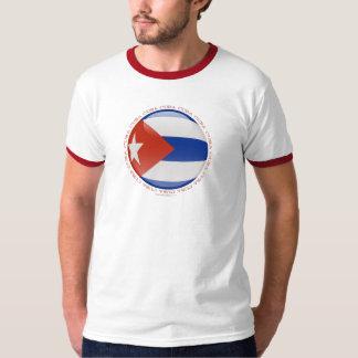 Cuba Bubble Flag T Shirt