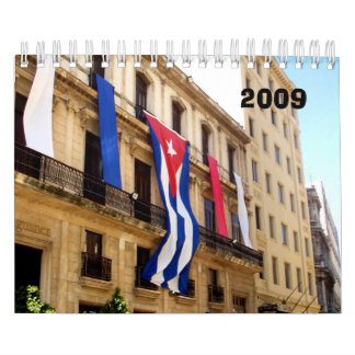Cuba Calendar
