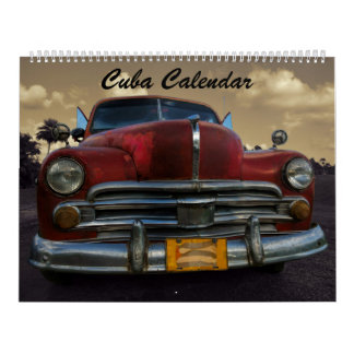 Cuba Calendar 2017