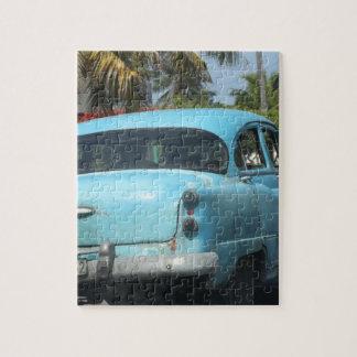 Cuba car jigsaw puzzles