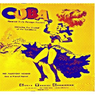 Cuba Casino Vintage Photo Sculpture