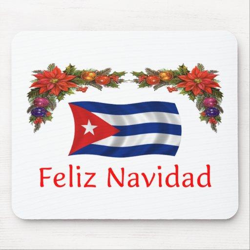 Cuba Christmas Mouse Pad