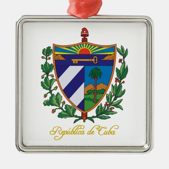 """""""Cuba COA"""" Metal Ornament"""