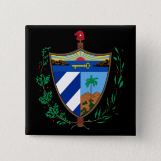 cuba coat of arms button