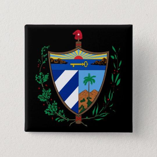cuba coat of arms button