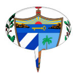 Cuba Coat of Arms Cake Pick