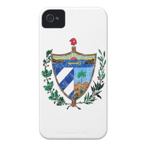 Cuba Coat Of Arms Blackberry Bold Cases