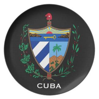 Cuba* Coat of Arms Display Plate
