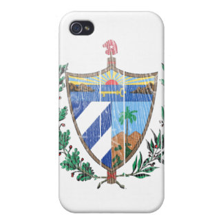 Cuba Coat Of Arms Cover For iPhone 4