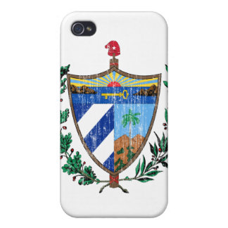 Cuba Coat Of Arms Case For iPhone 4