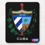 Cuba* Coat of Arms Mousepad