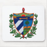 Cuba Coat of Arms Mousepad