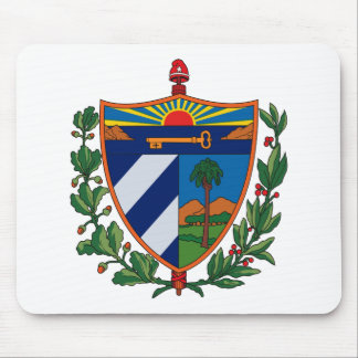 Cuba Coat of Arms Mousepad