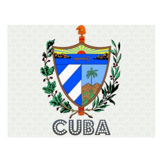 Cuba Coat of Arms Postcard