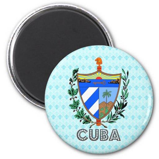 Cuba Coat of Arms Refrigerator Magnet