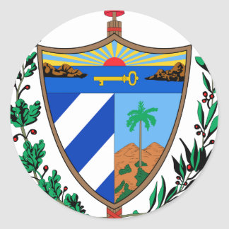 Cuba Coat of Arms Stickers