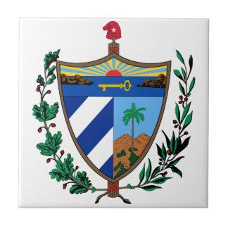 Cuba Coat Of Arms Tile