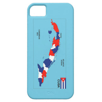 Cuba country political map flag iPhone 5 cases